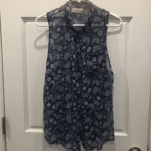 Women's Abercrombie & Fitch button down Blouse